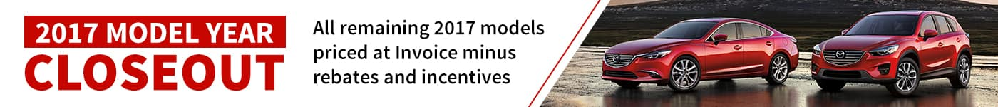 2017 Model Year Close Out