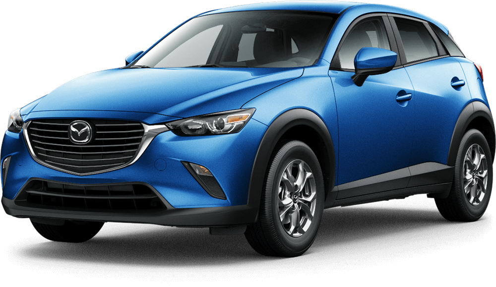 2017 Mazda CX3 Blue