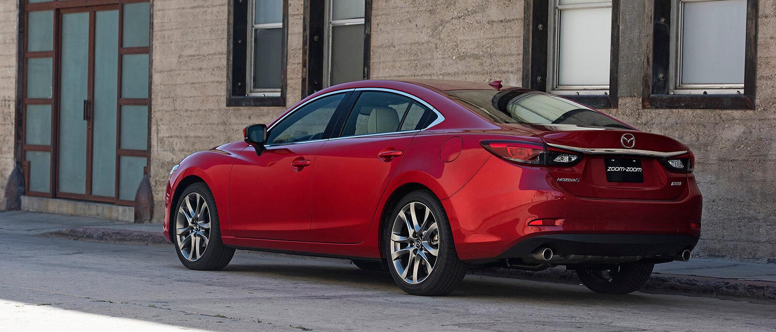 2017 Mazda6 Rear