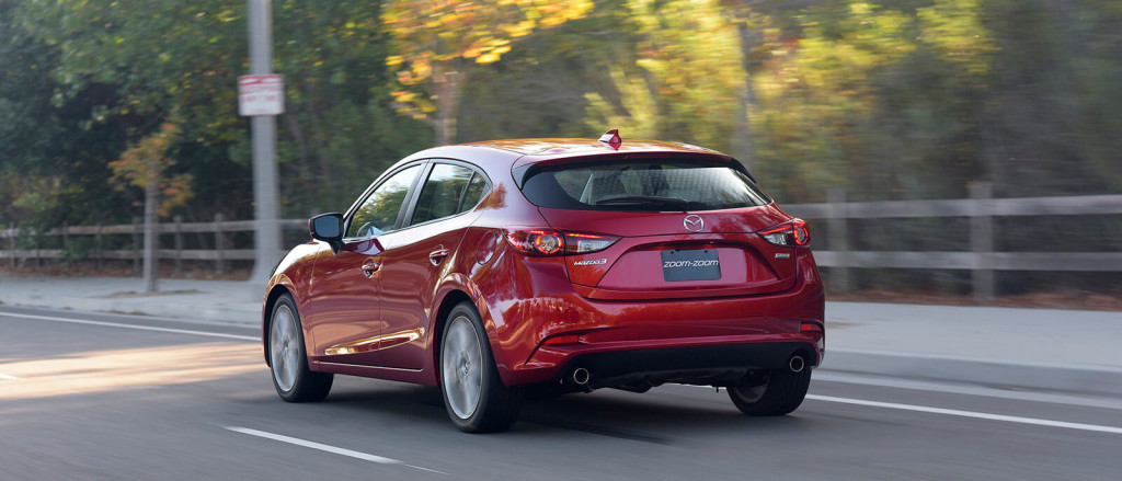 July Mazda3 Hatchback Lease Special