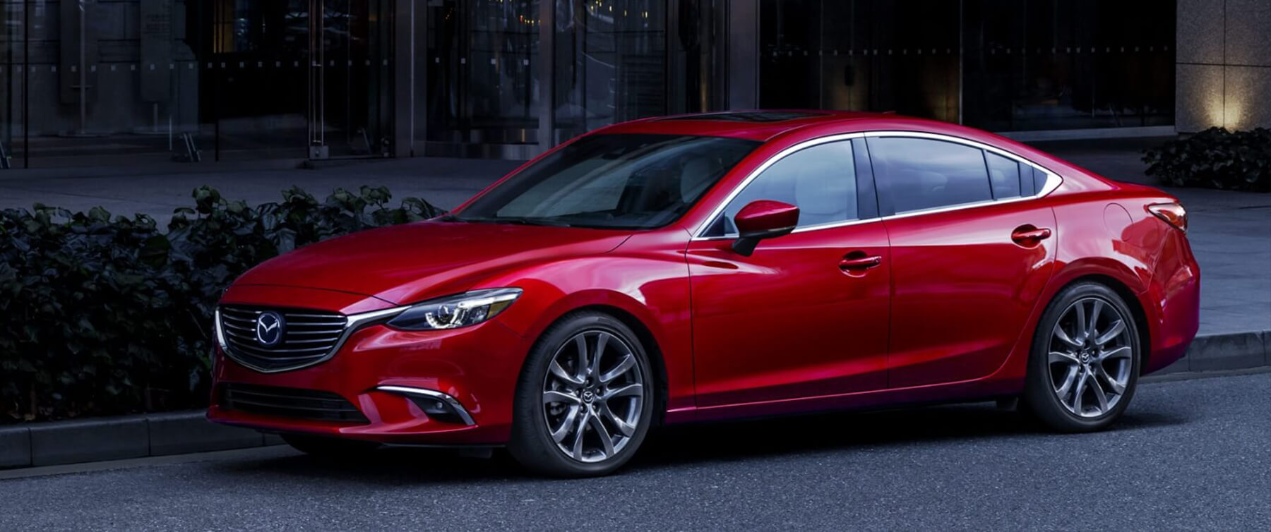 2017 Mazda6 Parked on City Street
