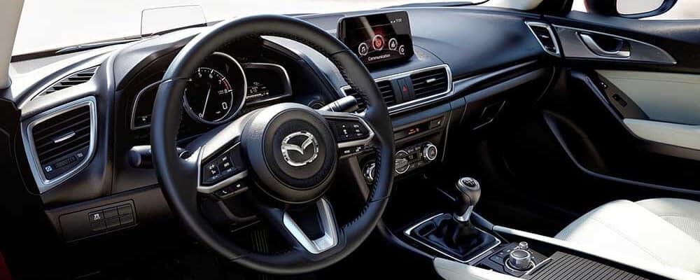 2018 Mazda3 interior cabin dashboard