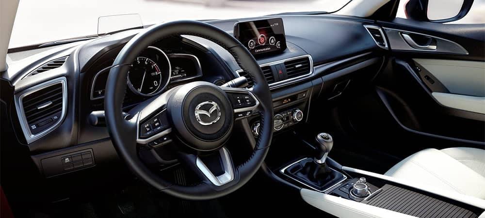 2018 Mazda3 Interior Dashboard