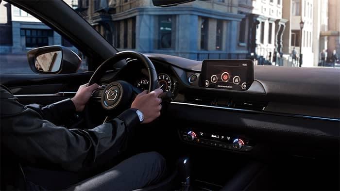 Man Driving 2018 Mazda6