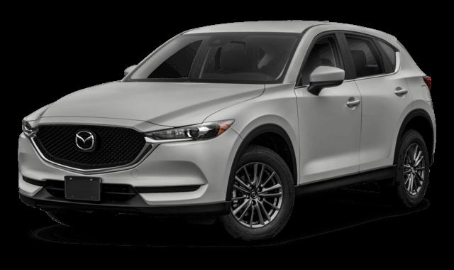 silver Mazda CX-5 SUV