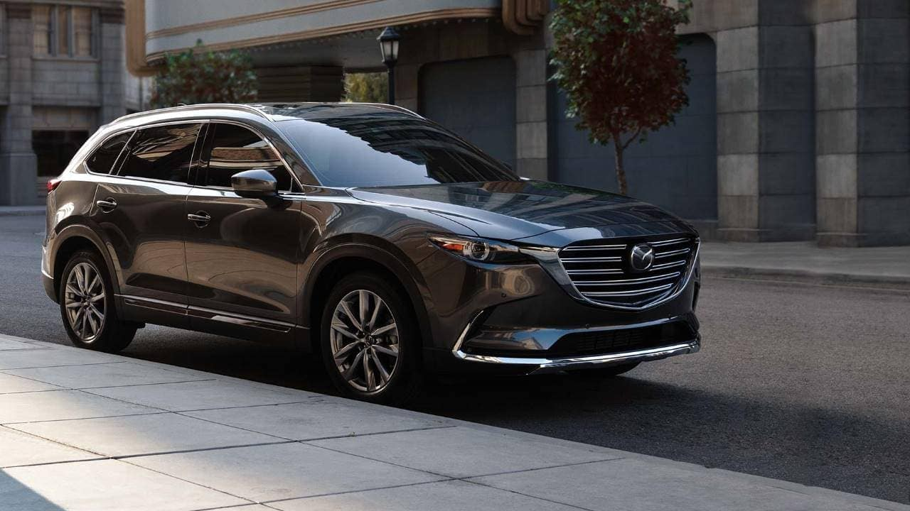 2019 Mazda CX-9 Exterior passenger side front angle