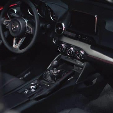 2019 Mazda MX-5 Miata dashboard