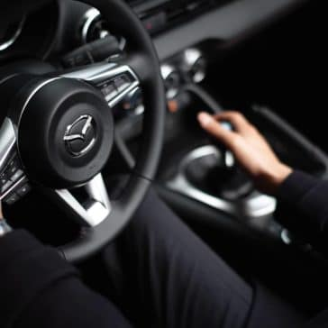 2019 Mazda MX-5 Miata steering wheel