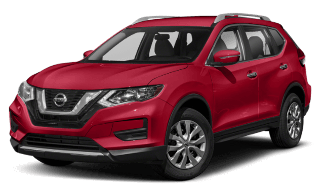 2019 Nissan Rogue red