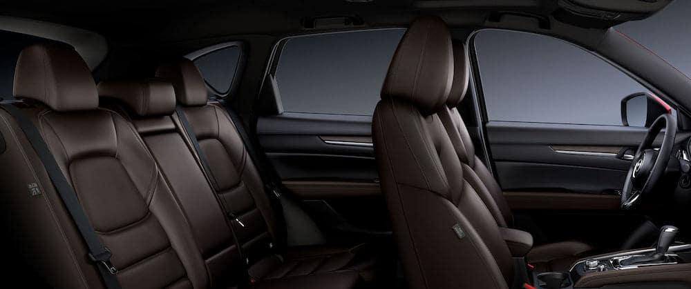 2019 Mazda CX-5 interior features seating dimensions
