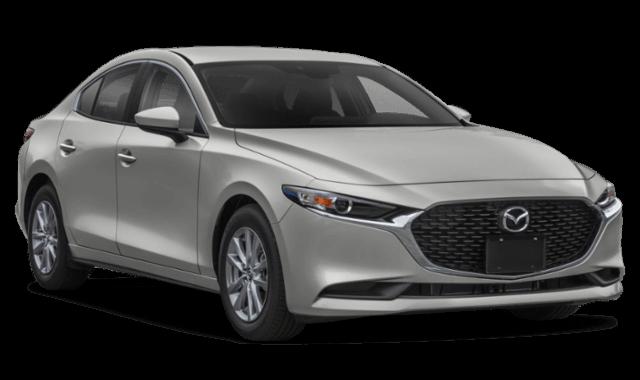 2019 Mazda3 Sedan silver frontview