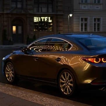 2020 Mazda3 Sedan Rear