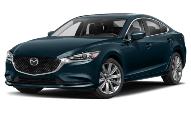 2020 Mazda6 front view comparison thumbnail