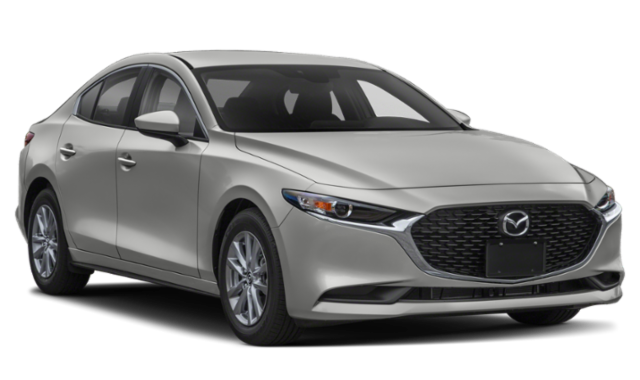 2020 Mazda3 front view comparison thumbnail