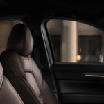 2020 Mazda CX-5 interior dimensions showing front row seating