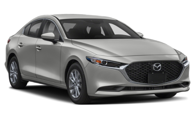 2019 Mazda3 silver sedan comparison thumbnail