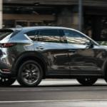 2020 Mazda CX-5 parked on city street