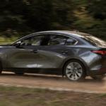 2020 Mazda3 driving on rural Florida road