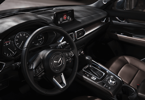 2020 Mazda CX-5 interior seating and dashboard