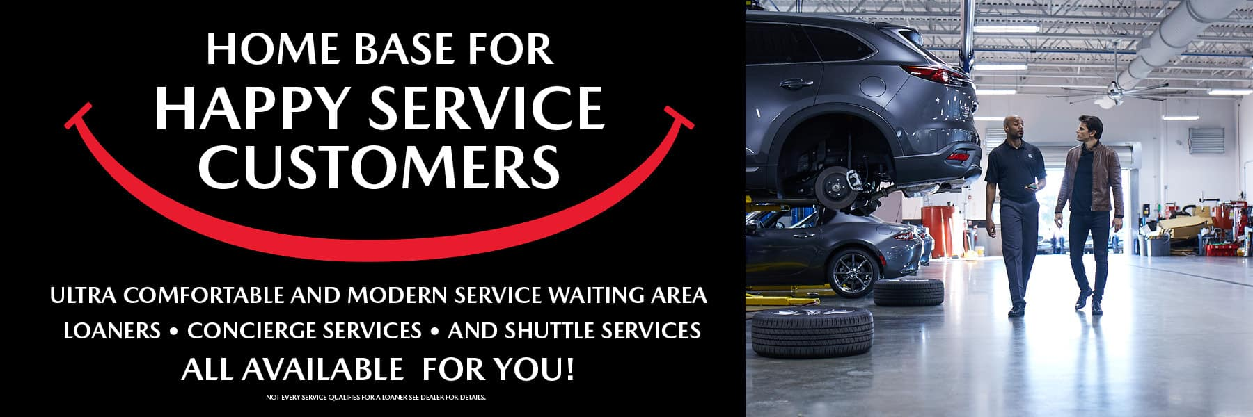 useT3942 HQ MAZDA SERVICE 1800X600