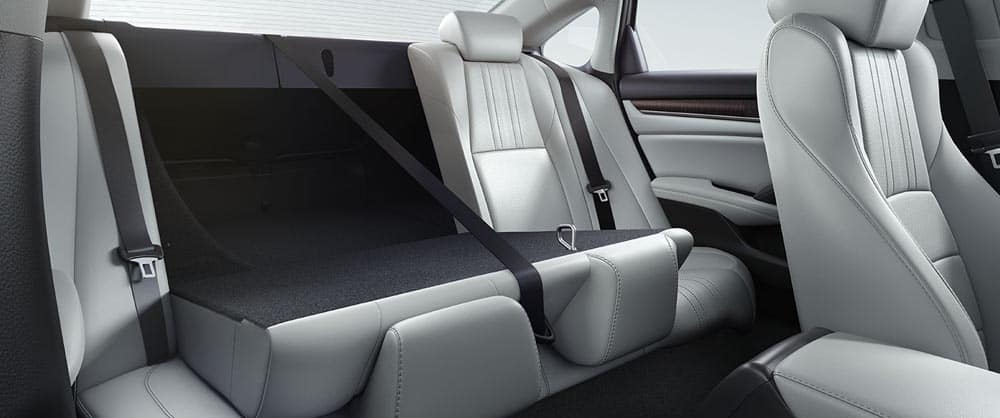 2018 Honda Accord split folding seat
