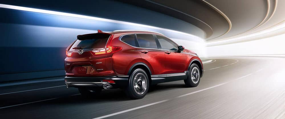 2018 Honda CR-V red exterior