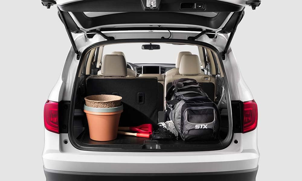 2018 Honda Pilot cargo features