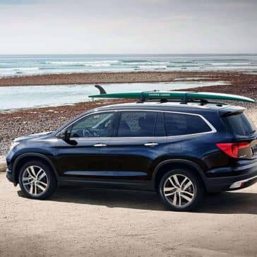2018 Honda Pilot side view