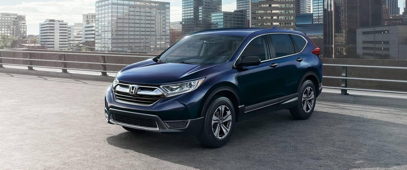 2018 Honda CR-V blue exterior model