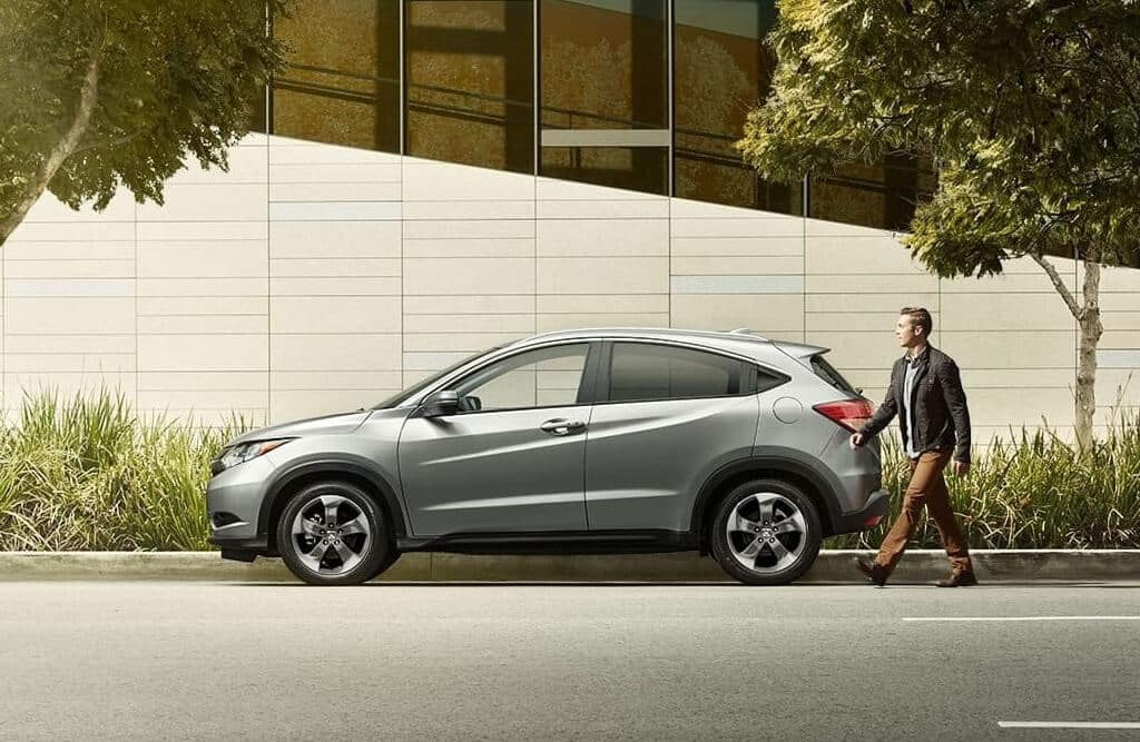 2018 Honda HR-V side view
