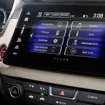 2018 Honda Clarity Plug-In Hybrid entertainment features