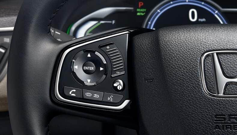 2018 Honda Clarity Plug-In Hybrid interior features