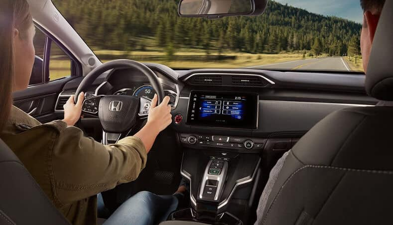 2018 Honda Clarity Plug-In Hybrid front interior