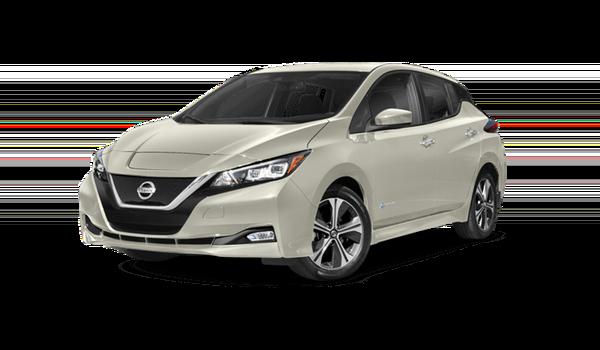 2018 Nissan LEAF white background image