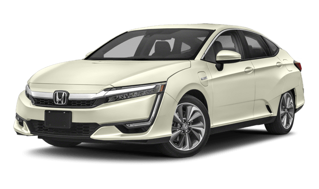 2018 Honda Clarity Plug-In Hybrid Sedan white background
