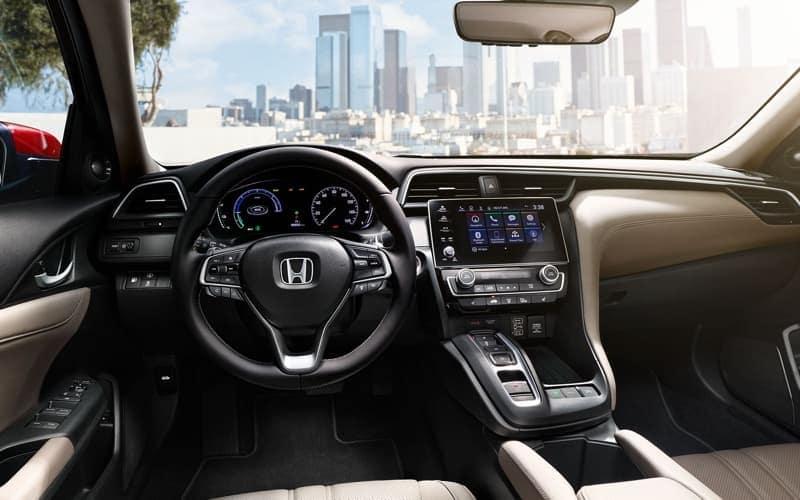 2019 Honda Insight front interior