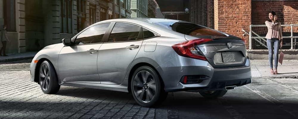 2018 Honda Civic rear view