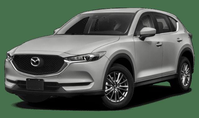 Silver Mazda CX-5