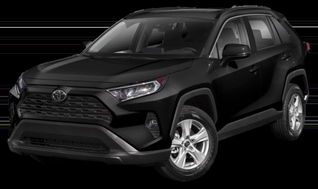 Black Toyota RAV4
