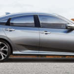 Silver 2019 Honda Civic
