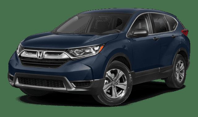Blue 2019 Honda CR-V