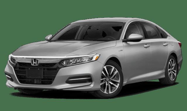 Silver 2019 Honda Accord Facing Forward