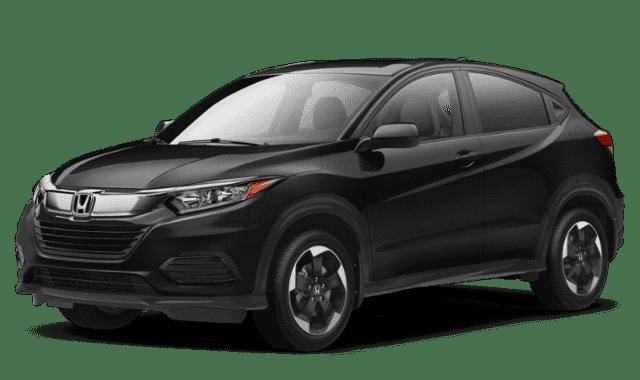 Black Honda HR-V