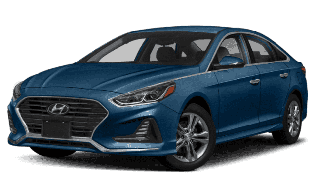 Blue 2019 Hyundai Sonata