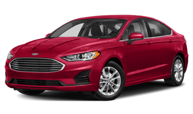 Red 2020 Ford Fusion