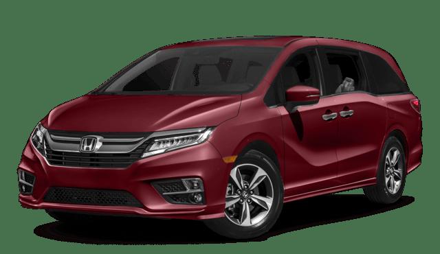Red 2019 Honda Odyssey