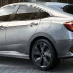 Silver 2019 Honda Civic