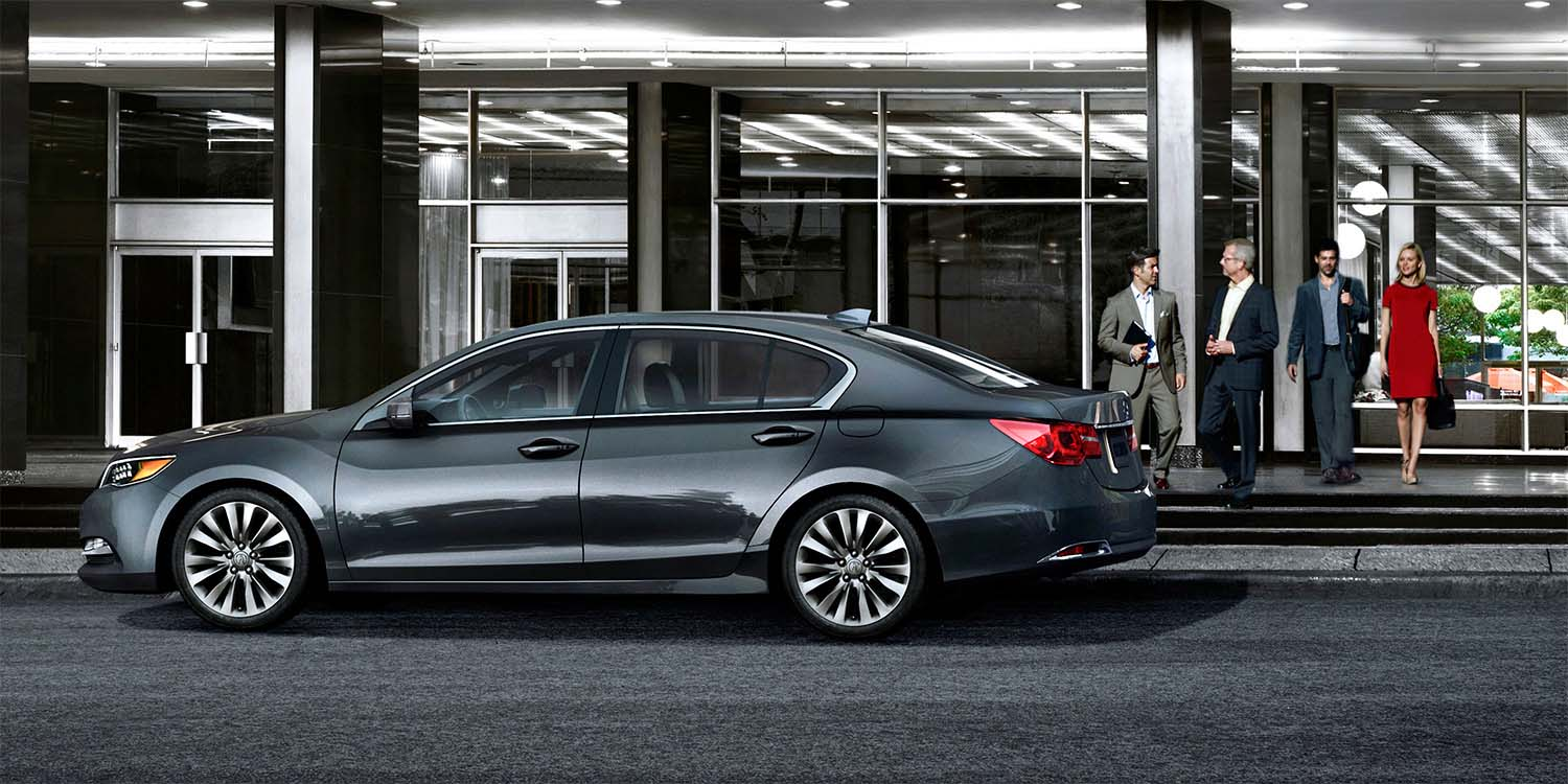 2016 Acura RLX Exterior Side Profile