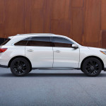 2017 Acura MDX Exterior Side Profile
