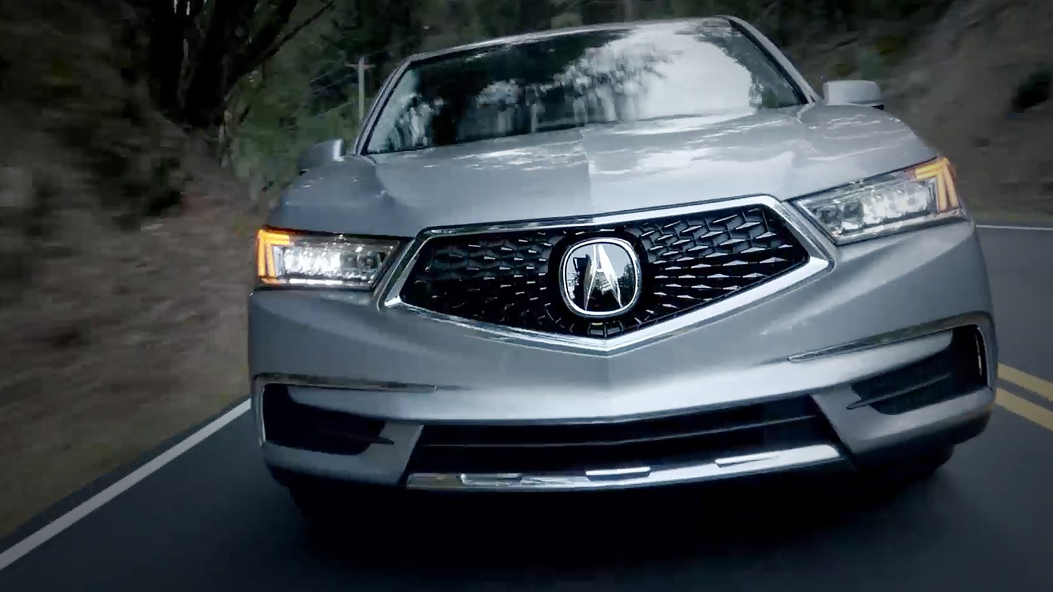 2017 Acura MDX Exterior Front Angle